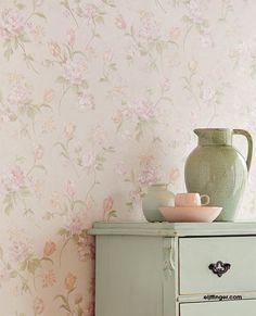 Vinyl Wallpaper, How To Hang Wallpaper, Luxury Wallpaper, Photo Mural, Shabby Chic Farmhouse, English House, Pip Studio, Aesthetic Bedroom, Cozy Cottage
