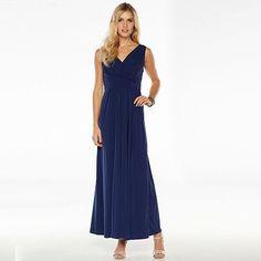 Chaya Ruched Evening Dress - Women's