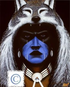Native American Stencils for Painting | native american tear stencil 1 native american warrior brad robertson ...