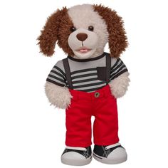 Sharp Dressed Paperback Pup - Build-A-Bear Workshop US $38.00