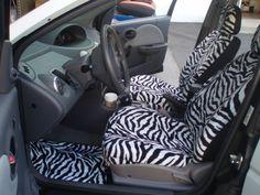 Westcoastsheepskin Zebra Seat Covers