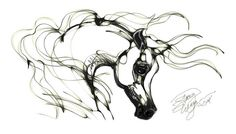 Arabian Horse Head by awhitehorse, via Flickr