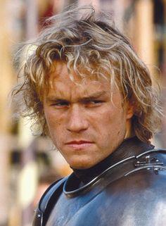 Heath Ledger in A Knight's Tale.  Methinks he was a beautiful dude.  <3
