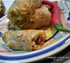 sarmalute cu fasole rosie Turkey, Pastel, Chicken, Meat, Food, Cake, Turkey Country, Essen, Meals