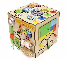 Busy box Busy Board Sensory board Busy cube First Christmas