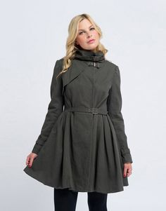 CROSS MY HEART TRENCH #jorge Trench, My Heart, High Neck Dress, My Love, Dresses, Products, Fashion, Turtleneck Dress, Vestidos