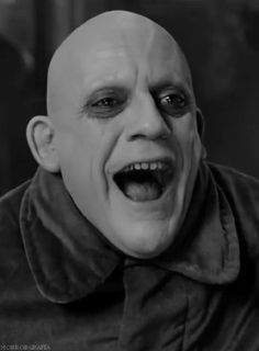 """Christopher Lloyd on playing Fester """"I grew up on Charles Addams' cartoons, particularly The Addams Family and Uncle Fester was always one of my favorites, Every time the magazine came in with Charles Addams' cartoons, I'd open it up, hoping there'd be one with Uncle Fester. He just always appealed to me, his whole persona. So, I was astonished when, literally decades later, I get a call to play the part."""""""
