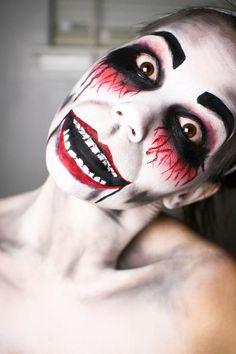 Halloween ventriloquist makeup | Makeup Inspiration | Pinterest ...