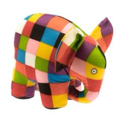 Elmer the Elephant Plush Toy. An cuddly Elmer the Elephant. Worldwide delivery from the UK. Paul Klee, Elmer The Elephants, Colorful Elephant, Mamas And Papas, Illustrations, Kids Bags, Plush Animals, Childrens Books, Dinosaur Stuffed Animal