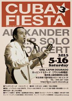 Alexander LP:  Los esperamos en Sakado el 16 de Mayo!! Alexander...