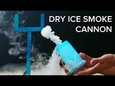 Dry Ice Smoke Launcher - YouTube