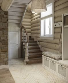 Trendy home cozy rustic log cabins House Design, Cozy House, New Homes, Bars For Home, House Interior, Cabin Design, Log Home Interior, Trendy Home, Rustic House