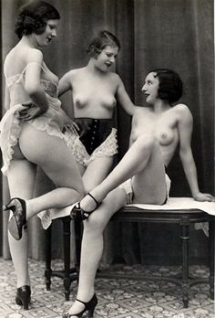 Hot. those 20th century nude women once had muzzie