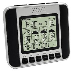 Weather Direct® Four Day Talking Internet Powered Wireless Forecaster ShopNBC.com