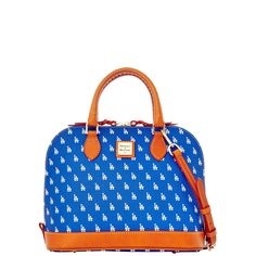 f0639a898723df Dodgers Zip Zip Satchel Mlb Dodgers, Dodgers Girl, Satchel Handbags, Purses  And Handbags