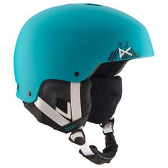 The Lynx Womens Snowboard Helmet in Mowgli Teal is a straight to the point helmet. great protection and luxurious comfort with it's long haired fleece liner