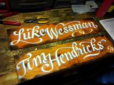 painted sign - Google Search
