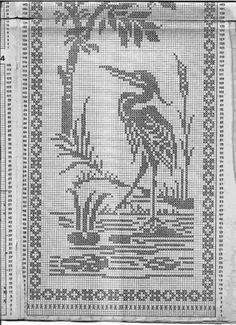 "ru / Mongia - Альбом ""Filet Crochet for Cross Stitch Simple Cross Stitch, Cross Stitch Bird, Cross Stitch Animals, Cross Stitch Charts, Cross Stitch Embroidery, Cross Stitch Patterns, Crochet Bird Patterns, Crochet Birds, Thread Crochet"