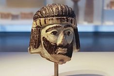 kings head figurine found in israel