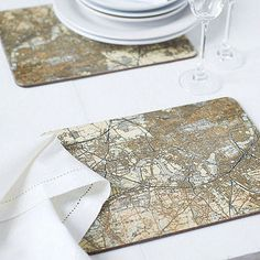 Love this idea for placemats or coasters...