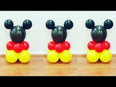 Mickey Mouse Clubhouse Decorations, Mickey Mouse Party Decorations, Mickey Mouse Birthday Decorations, Mickey 1st Birthdays, Mickey Mouse Balloons, Mickey Mouse First Birthday, Mickey Mouse Baby Shower, Theme Mickey, Mickey Mouse Clubhouse Birthday Party