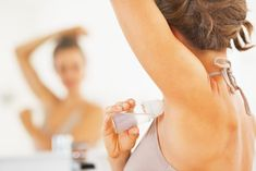 Thinking of using an all-natural deodorant? Here's what you need to know about the differences between antiperspirant and deodorant before making the switch, including the real truth about armpit detoxes. Kids Deodorant, Diy Natural Deodorant, Secret Deodorant, Homemade Deodorant, Deodorant Recipes, Dove Deodorant, Homemade Toothpaste, Beauty Care, Beauty Hacks