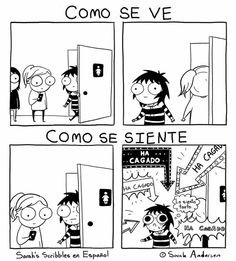 Anybody who's familiar with the comics of Sarah Andersen will know how perfectly they summarize the daily struggles of modern life, especially when it comes to Sarah Anderson Comics, Sara Anderson, Cartoon Memes, Funny Cartoons, Funny Memes, Cute Comics, Funny Comics, Owlturd Comics, Saras Scribbles