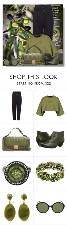 """""""Olive Chic - Contest!"""" by sarguo ❤ liked on Polyvore featuring Jamie Oliver, Bottega Veneta, Cobb Hill, Sevan Biçakçi, Marco Bicego, Gucci and olivechic"""
