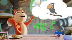 Alice nel bosco: #Vlog 2 La volpe e il corvo! Cartoni animati per bambini