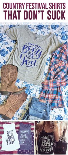 Aww so cute! I'm Head over Boots for You tee! Cutest country clothing for country music concert and country festivals! Country Fashion, Country Outfits, Country Girls, Country Music, Country Jam, Country Concerts, Country Life, Head Over Boots, Summer Outfits