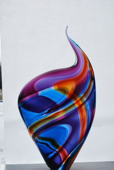 New Blown Glass By Paull Rodrigue