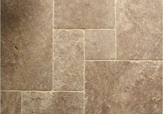 Noce Tumbled Travertine Tiles | Floors of Stone
