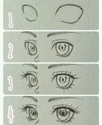 Drawing ideas step by step sketches anime eyes 31 Best ideas – Drawing Techniques Eye Drawing Tutorials, Drawing Techniques, Drawing Tips, Art Tutorials, Drawing Sketches, Drawing Ideas, Eye Sketch, Drawing Art, Sketching