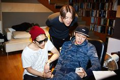 [PICS] 140729 Melon: Behind-the-Scene Cuts of JYJ recording studio scenes (for 'Back Seat' JP Ver.?)