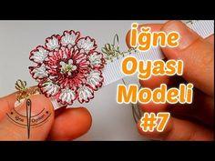 Tunus İşi Tığ Oyası Yapımı-Yazma Modeli HD Kalite - YouTube Needle Tatting, Needle Lace, Bobbin Lace, Folk Embroidery, Learn Embroidery, Cross Stitch Embroidery, Tatting Patterns, Lace Patterns, Thread Crochet