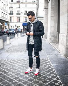 e7a45db302 Airmax Outfit, Urban Street Style, Street Look, Street Wear, French Outfit,