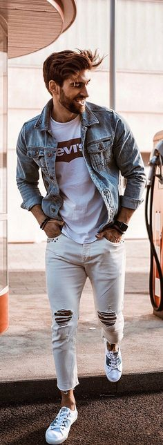11 Cool Summer Street Style For Men Summer Street Style Outfit Ideas 2019 Street Style Outfits, Street Style Summer, Street Fashion Men Summer, Man Style Summer, Trendy Summer Outfits, Cool Outfits, Outfit Summer, Winter Outfits, Casual Outfits