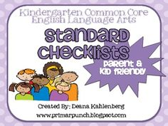 This packet contains 6 kid and parent friendly posters to help guide the teaching and understanding of the Kindergarten common core standards. Post...
