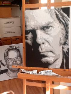Neil Young by H-Scott-Cottingham.deviantart.com on @DeviantArt