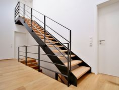 Stahltreppe 04 You are in the right place about Stairs workout Here we offer you the most beautiful pictures about the Stairs sketch you are looking for. When you examine the Stahltreppe 04 part of th Rustic Staircase, Staircase Handrail, White Staircase, Modern Staircase, Stair Railing, Staircase Design, Black Stairs, Staircase Ideas, Modern Railing