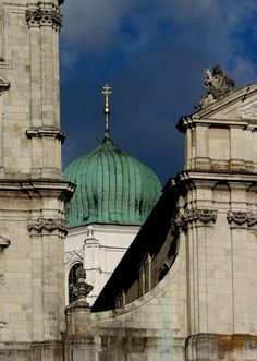 Dome of St. Stephen's Cathedral, Passau, Germany, 2006