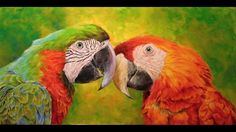 "How did created the painted picture ""Harry and Goldie"" (Jak vznikal obra..."