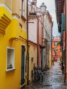A Calle in Caorle Italy