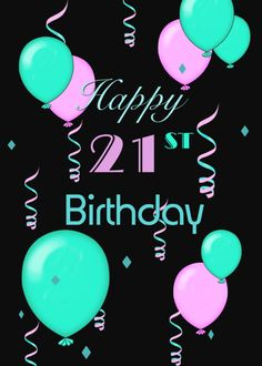 Personalize any greeting card for no additional cost! Cards are shipped the Next Business Day. 28th Birthday Quotes, 14th Birthday Party Ideas, Happy 12th Birthday, Sweet 16 Birthday, Pink Balloons, Birthday Balloons, Happy Birthday Wishes Messages, Flower Invitation, Happy B Day