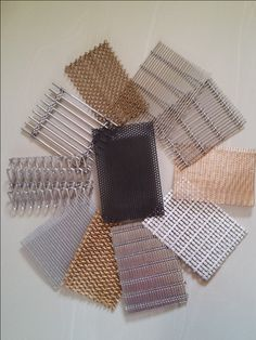 Different kind of Decorative Architectural mesh screens from A1 Metal Mesh Screens