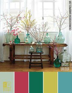 Vases Valor | Color Blocks Design