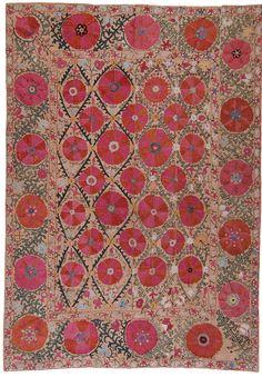 ici-marie:  Suzani - Uzbekistan (19th century)