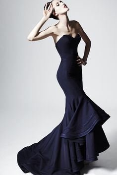 zac posen 2014 check out the construction of this dress!
