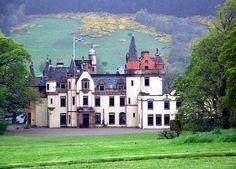 Aldourie Castle on Loch Ness-side by Inverness Scotland