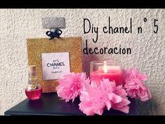 DIY: Bote de Chanel nº5 http://ini.es/1hkga1V #DiyAccesorios, #Manualidades
